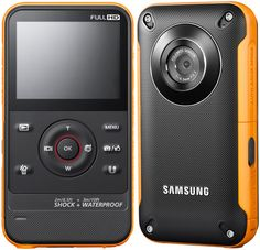 Samsung HMXW300. Waterproof, rugged, Full HD pocket camera
