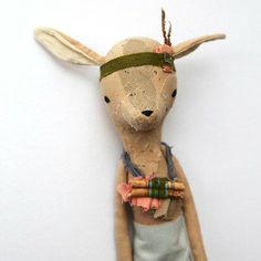 Myth Creatures LITTLE DEER by abigailbrown