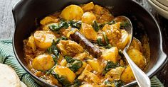 This spicy chicken curry recipe contains half of your recommended daily vegetable intake.