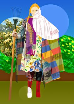 Mustermix - Vivienne Westwood - illustrator Vivienne Westwood, Illustrator, Princess Zelda, Pictures, Fictional Characters, Collection, Art, Fashion, Art Background