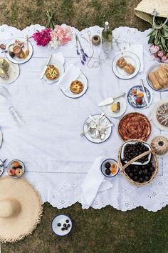 From My Dining Table by Skye McAlpine   Summer Picnic, Summer Memories (Tarts, Cake, Sandwiches and Lemonade)   http://www.frommydiningtable.com