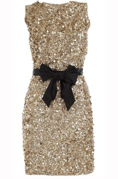 Gold Not only is gold the hottest metallic shade for 2013, it's also a lovely hue to outfit your bridesmaids in for a polished, vintage-inspired look. We especially love the idea of gold sequined gowns to give your wedding party some added sparkle. Dress from Pernias Pop-up Shop .