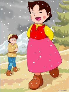 Heidi and Peter Heidi Cartoon, Cartoon Tv, Vintage Cartoon, Popeye Cartoon, Doraemon Cartoon, Cartoons Magazine, Innocent Child, Old Anime, Classic Cartoons