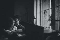emotional portraits of couple