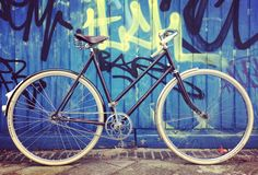The Humber fifties bicycle rebuild by Fraai Staal.