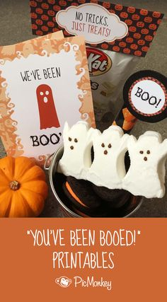 You've Been Booed is an enormously popular tradition. Lucky for you, we've made You've Been Booed printables, including candy bag toppers and labels, to keep your Halloween traditions easy and fun.