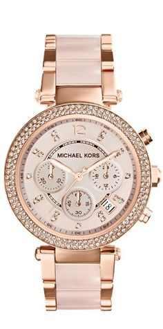 Michael Kors... This watch stopped me in my tracks when walking through the store