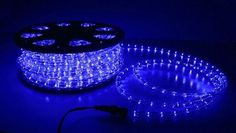 NEW 150 ft 2 Wire LED Rope Light Home Outdoor Christmas Lighting Blue -- You can find more details by visiting the image link.