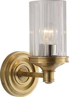 beautiful small wall sconce for bedroom or bathroom