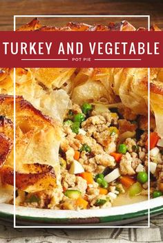 Did you know turkey is an excellent source of protein to help build strong bones? With lots of flavour and great taste, it's easy to make turkey a staple at your dinner table! Why not try making our recipe for Moroccan Turkey and Vegetable Pot Pie this week? Then head over to http://www.canadianturkey.ca/recipe-category/featured-recipes/ for more great recipes!