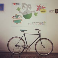 A #bike re-made at the MaMaStudiOs #webagency for people thats lovely design #instagram