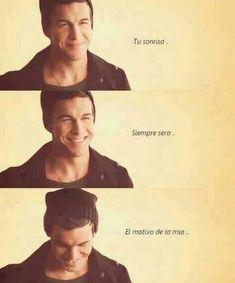 """""""Tu sonrisa... Siempre sera... El motivo de la mia..."""" ♥♥♥ (3MSC)"""