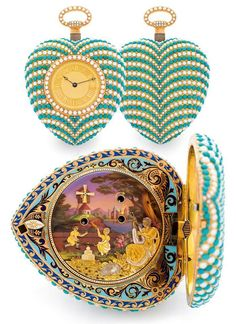 Piguet Musical Watches, created as gifts for eastern leaders, these watches are considered some of the finest ever made. This particular one fetched $314,685.00 at auction.
