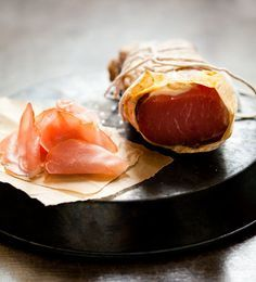 homemade dry cured pork loin   Wrightfood