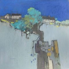 Norma Stephenson, Artist This is Pastel but I like how reality and abstraction are integrated
