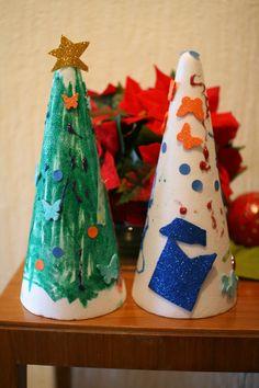 Kikiricosas: Arbolitos de Navidad