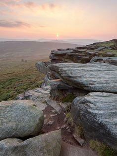 bellasecretgarden: High Neb on Stanage Edge, Peak District, England by matrobinsonphoto on Flickr