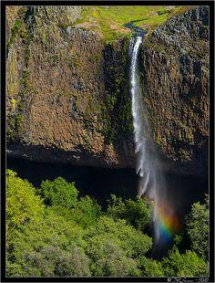 Phantom Falls--Coal Canyon on Table Mountain, Oroville, California