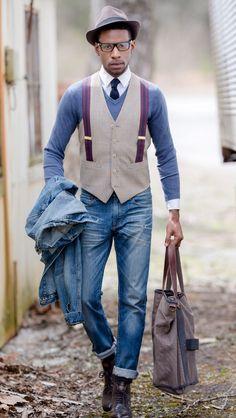 Sapeur mi-bretelles Fashion