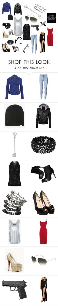 """Hot & Dangerous"" by chancielu ❤ liked on Polyvore featuring MuuBaa, ONLY, Vans, Betsey Johnson, Faith Connexion, Topshop, Christian Louboutin, Enza Costa, Coast and Kiss Kouture"