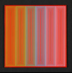 Richard Anuszkiewicz, Untitled, 1971. USA. Louisiana Museum...