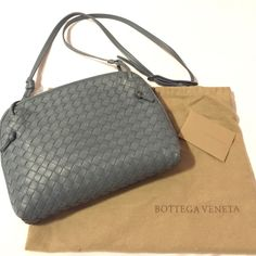 Bottega Veneta Small Woven Crossbody Bag