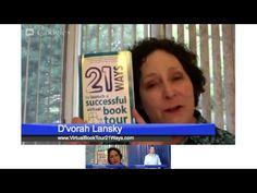Using Google Hangouts on Virtual Book Tours D'Vorah Lansky - Blog Book Tour - Daniel Hall Presents - http://www.danielhallpresents.com/virtual-book-tours-using-google-hangouts/