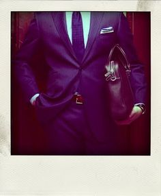 Great suit, great look.