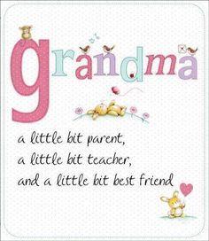 grandma quotes, grandkid, famili, grandpar, nana, parent, grandchildren, friend, thing