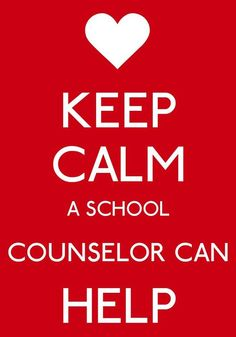 School counselors can help.