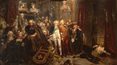 This HD wallpaper is about Classical art, Jan Matejko, Polish, Rejtan – Upadek Polski, Original wallpaper dimensions is file size is Most Famous Paintings, Great Paintings, Old Paintings, Poland History, Art History, Carl Spitzweg, Castle Painting, Art Database, Classical Art