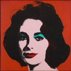 SFMOMA | SFMOMA | Explore Modern Art | Our Collection | Andy Warhol | Liz #6 [Early Colored Liz]
