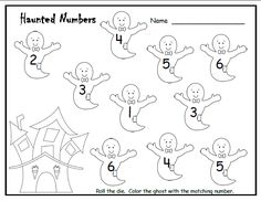 Halloween Math Activity For Kids  Halloween Math Math And Number