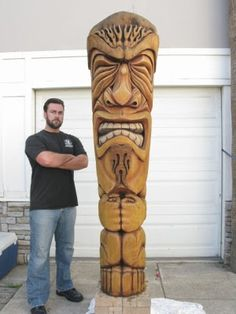 Shellbelle's Tiki Hut: The Art of Tiki Carving