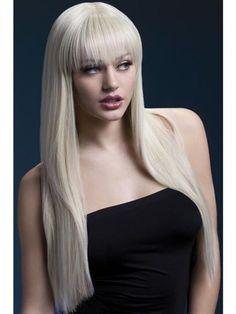 Brand New Long Dark Fever Tanja Wig Black
