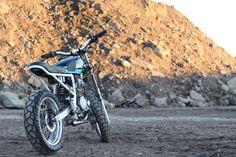 Honda XR650 Street Tracker by Saingchink #motorcycles #streettracker #motos   caferacerpasion.com