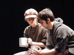 Imagen del espectáculo de teatro en inglés para escolares Oliver Twist.