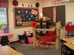 Cowboy/Western Themed Classroom... Possibility!! This is for you Dolores. I thought it looked cute!
