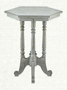 Blue Assorted Java Table- love this
