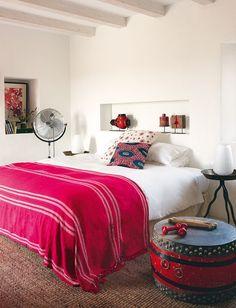 Adorable Boho-inspired bedroom