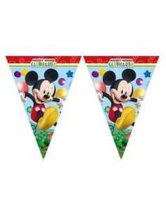 Doğum günü parti süslemeleri için Mickey Mouse Temalı Bayrak Afiş malzemesini online olarak uygun fiyatlar ile satın alabilirsiniz