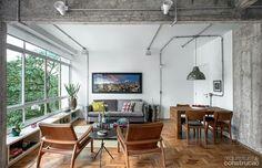 Apartamento de 90 m² ganhou ofurô na reforma de 5 meses.