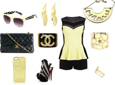 """""""Good Yellow !!!"""" by salsetta on Polyvore"""