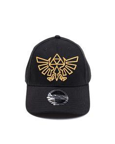 a2f052406fe Official Legend of Zelda Gold Logo Cap   Snapback