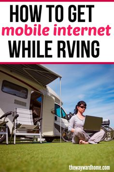 Mobile internet options when traveling by RV, van or sailboat Most full-time travelers need internet these days. There are several options for getting internet service in your RV, motorhome, travel trailer or campervan. Rv Hacks, Camping Hacks, Camping Trailers, Camping Jokes, Travel Trailer Tips, Travel Trailer Living, Life Hacks, Travel Camper, Camping Stuff