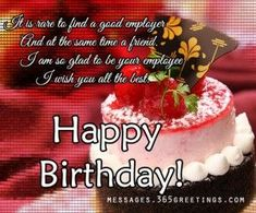 Boss Birthday Wishes Quotes For Happy