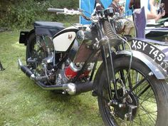 1930 Scott Flying Squirrel Classic Motorcycle Pictures