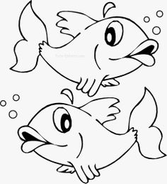 avril, poisson d'avril ! Cartoon Drawing For Kids, Art Drawings For Kids, Fish Drawings, Cartoon Drawings, Animal Drawings, Bunny Coloring Pages, Fish Coloring Page, Pattern Coloring Pages, Colouring Pages