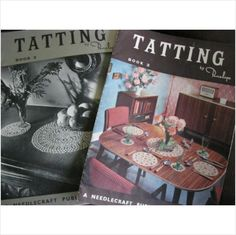 2 vintage Tatting magazines by penelope Book 2 and 3 on eBid United Kingdom