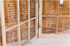Use old windows for seating chart